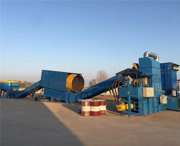 Large bagging machine